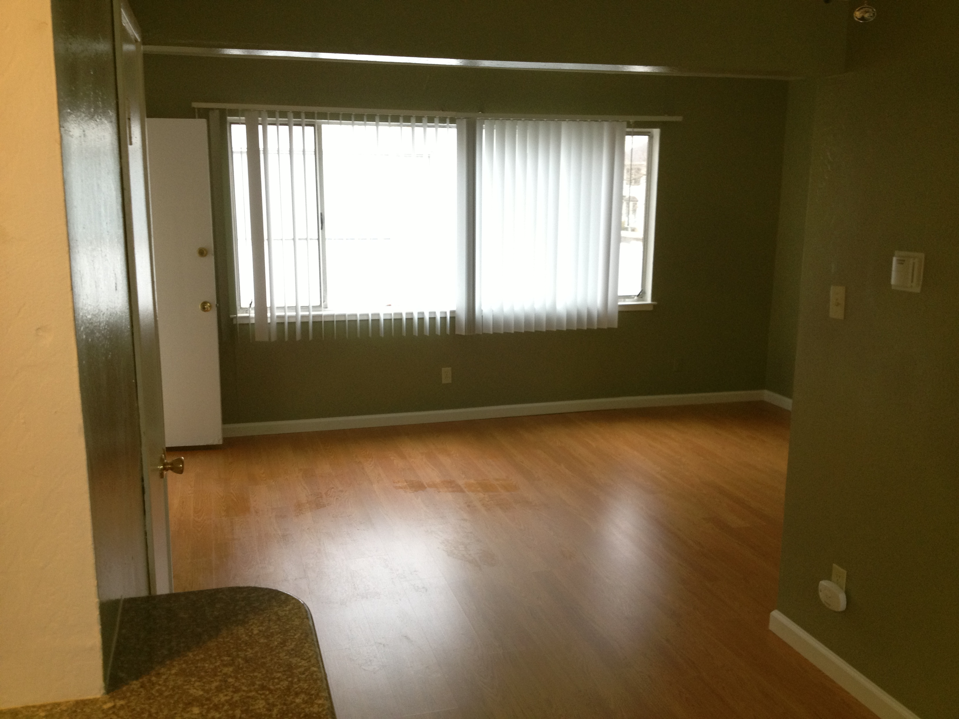1729 g st 1 bedroom upstairs with hardwood laminate for Hardwood floors upstairs